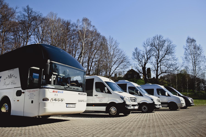 autobusu mikroautobusu nuoma